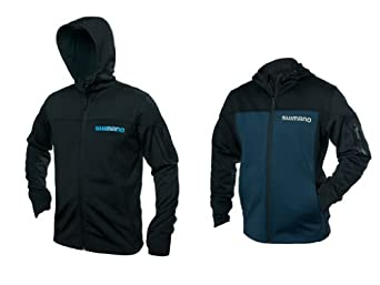 Shimano Technical Softshell Hooded Jacket Black XXl by Shimano