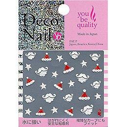 デコネイル Deco Nail Nー225 ひげサンタ ホワイト