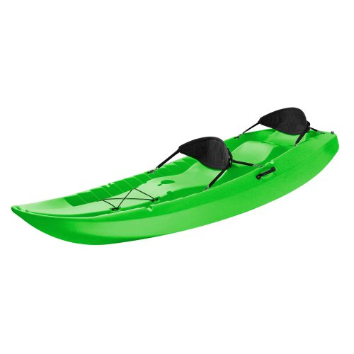 Fishing kayak 1 lifetime tandem kayak with back rests for Best tandem fishing kayak