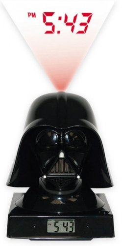 Star Wars Merchandise - Darth Vader LED Alarm Clock (Size: 5