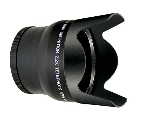 Sony Alpha A6000 2.2 High Definition Super Telephoto Lens (Only For Lenses With Filter Sizes Of 40.5, 49, 55, 58, Or 62Mm)