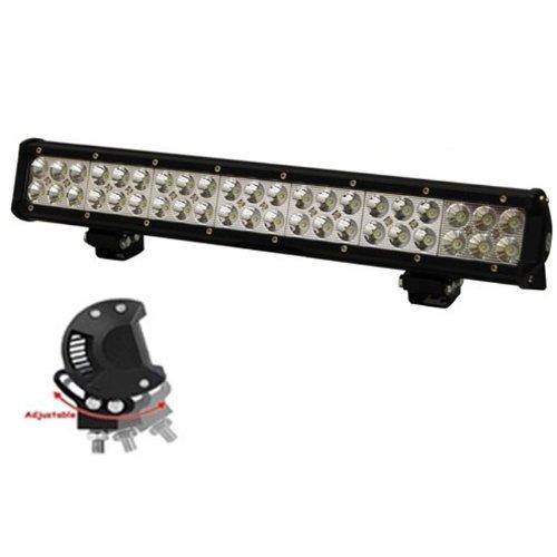 eyourlife 126w 12600lm led off road light bar flood spot. Black Bedroom Furniture Sets. Home Design Ideas