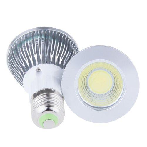Lemonbest Pack Of 2 Pcs High Power 9W E27 Base Cob Par20 Led Flood Down Light Ceiling Spotlight, Cool White