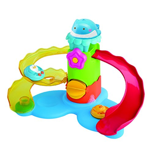 Blue Box Toys B Kids Splash'n Slide Waterpark Wonder Bath Toy - 1