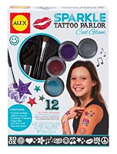 ALEX® Toys - Spa Fun, Tattoo's & More Sparkle Tattoo Parlor - Cool Glam 799G