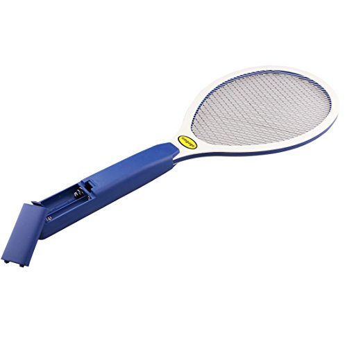 electric-bug-zapper-fly-swatter-zap-mosquito-zapper2-layer-wire-net-with-brush-best-for-indoor-and-o