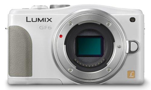 Panasonic ルミックス デジタル一眼カメラ ルミックス GF6 ボディ ホワイト DMC-GF6-W