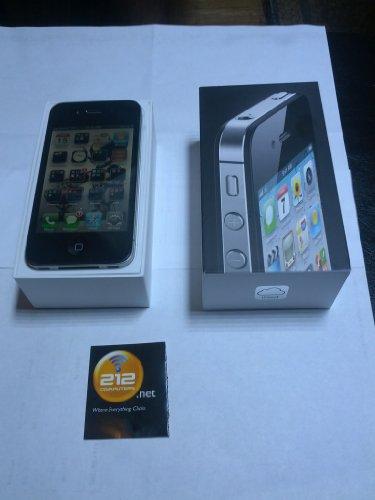 Apple iPhone 4 Black 8GB Memory Mobile Phone – (Sprint)