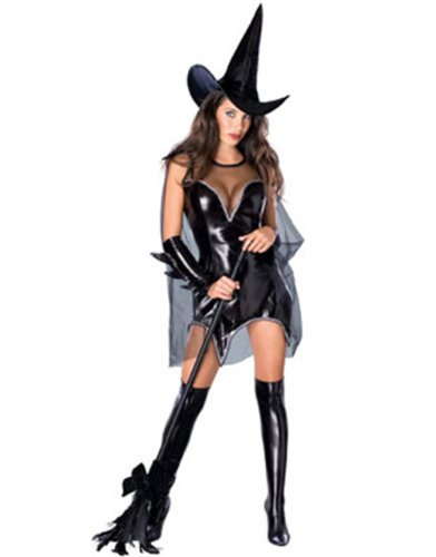 Secret Wishes Women's Black Magic Moment Adult Witch Costume