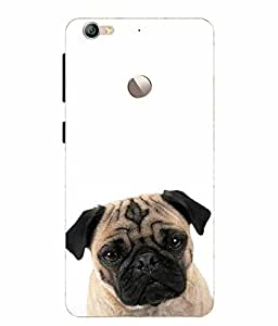 Make My Print Dog Printed Multicolor Soft Back Cover For LeEco Le 1s Eco