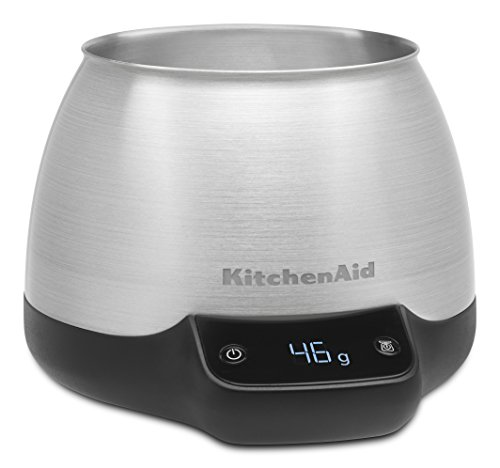 KitchenAid KCG0799SX Digital Scale Jar Burr Grinder Accessory, Brushed Stainless Steel (Kitchenaid Coffee Grinder Maker compare prices)