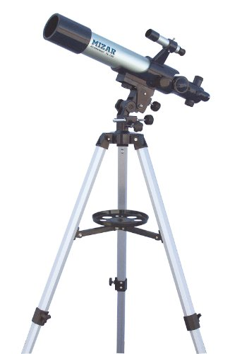 MIZAR-TEC 天体望遠鏡 屈折式 口径70mm 焦点距離500mm 上下左右微動装置付きマウント TL-750