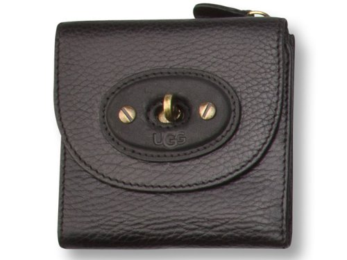 UGGNew UGG® Australia Brooklyn French Wallet Black Wallet