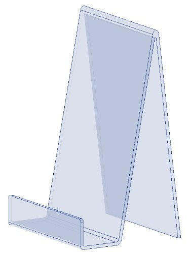 5-large-clear-perspex-acrylic-plastic-book-plate-retail-display-stand-holder