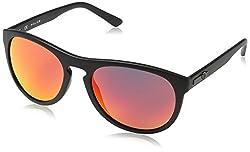 Police Unisex's Black Oval Sunglasses Police-S1871-U28R