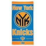 NBA New York Knicks Fiber Beach Towel, 9lb/30 x 60
