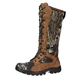 1570 Men\'s WP Snake Proof Hunting Rocky Boots - Mossy Oak - 7.5\\M