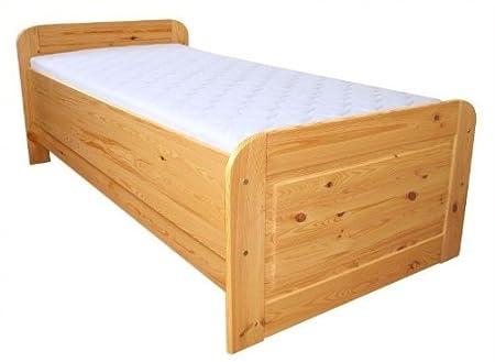 60.42-12 oR Seniorenbett Massivholz 120 x 200 cm, extra hohes Bett