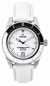 Kadloo Mediterranee ETA 2824-2 Automatic Watch with White Dial