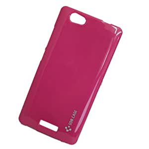 Jo Jo Soft Silicon Back Case Cover For Gionee M2Red
