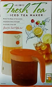Fresh Tea Iced Tea Maker-Mr. Coffee-TM75RE by Jarden Consumer Solutions