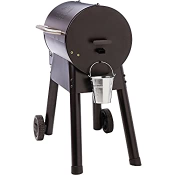 Traeger Grills Bronson 20 Wood Pellet Grill and Smoker - Grill, Smoke, Bake, Roast, Braise, and BBQ (Black)