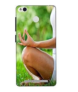 Case Cover Yoga Printed Multicolor Hard Back Cover For Xiaomi Redmi 3S