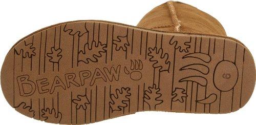 Bearpaw Womens Emma Tall 12-Inch Suede Sheepskin Boot, Hickory, US 10