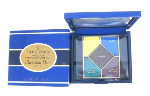 Christian Dior 5 Couleurs/5-Colours Eyeshadow Compact Palette 7 g/0.24 oz Images 202 Images: Ajonc/Broom, Horizon, Bruyere/Heather, Colvert/Mallard, Granite