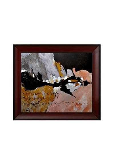 Pol Ledent Abstract 885442 Framed Canvas Print