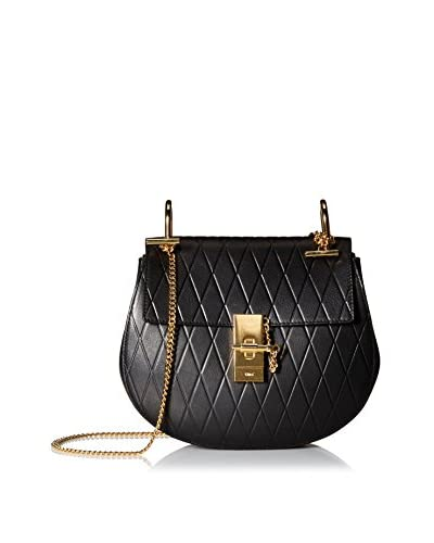 Chloé Women's Drew Quilted Small Cross-Body, Black