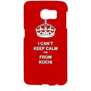 Skin4gadgets I CAN'T KEEP CALM I'm FROM KOCHI - Colur - Red Phone Designer CASE for SAMSUNG GALAXY S6 EDGE (G9250)
