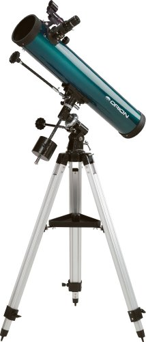 Cheap Orion 09843 SpaceProbe 3 Equatorial Reflector Telescope (Teal)