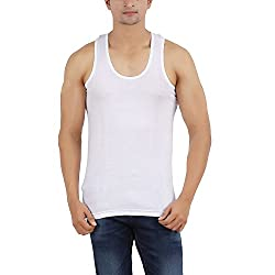 Arkatic Mens Cotton Solid Innerwear Premium Vest Size: S (Pack of 1)