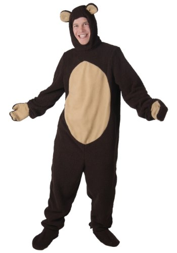 [Fun Costumes mens Plus Size Bear Costume 4X] (Goldilocks And Bear Costumes)