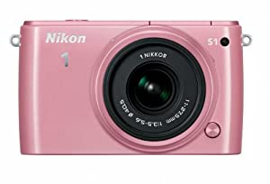 Nikon 1 S1 10.1 MP HD Digital Camera with 11-27.5mm VR 1 NIKKOR Lens (Pink)