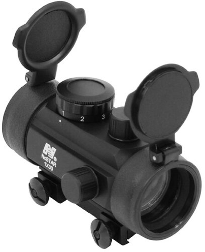 "Ncstar 1X30 B-Style Red Dot Sight / 3/8"" Dovetail Base (Dbb130/3)"