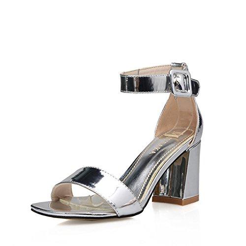 Sandals, Sandali donna, (A), Lunghezza 21.8 cm (8.6Inch)