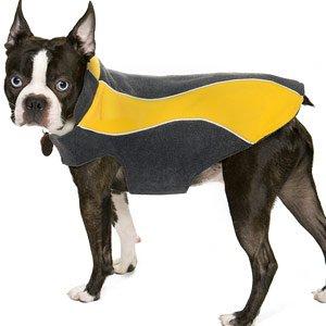 Explorer Double Fleece Reflective Dog Coat by Kakadu Pet, 18