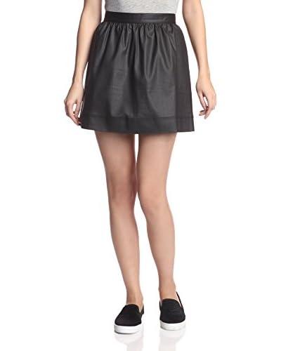 3×1 Women's Gathered Mini Skirt