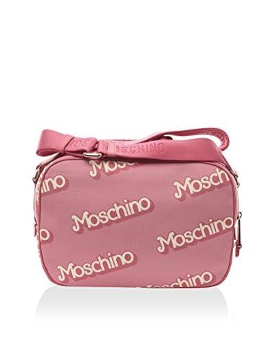 Moschino Women's Leather Detailed Handbag, Pink