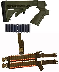 Ultimate Arms Gear Tactical Remington 870 20 Gauge Shotgun OD Olive Drab Green Stock... by Ultimate Arms Gear