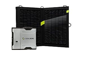 Goal Zero 42005 Sherpa 50 Silver Black Solar Recharging Kit with Inverter by Goal Zero
