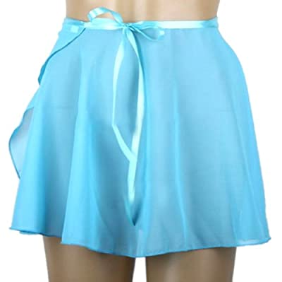 GOGO TEAM Child & Adult Sheer Wrap Skirt Ballet Skirt Ballet Dance Dancewear