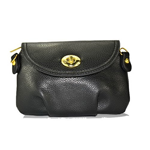 Meet Color Stylish Womens Lady Envelope Design PU Leather Crossbody Handbag Shoulder Purse Bags