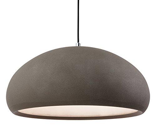 firstlight-2308cn-e27-edison-screw-60-watt-costa-rough-sand-concrete-pendant-light