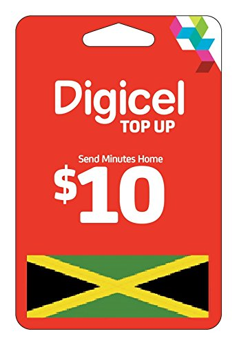 Digicel USD 10 Top up Recharge for Digicel Jamaica Electronically Delivered Within 1 Hour Via Email (Digicel Top Up compare prices)