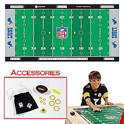 NFLR Licensed Finger FootballT Game Mat - Lions. Product Category: Toys & Games > Finger FootballT > NFL NFC