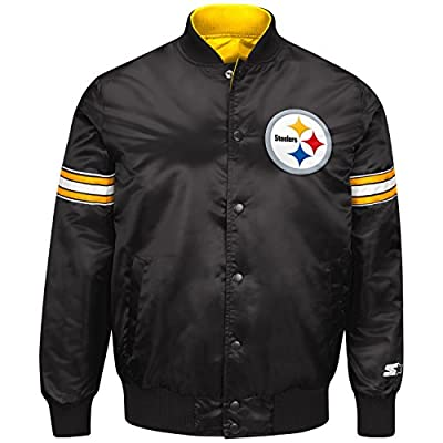 "Pittsburgh Steelers NFL Men's Starter ""Reigning Champ"" Reversible Varsity Jacket"