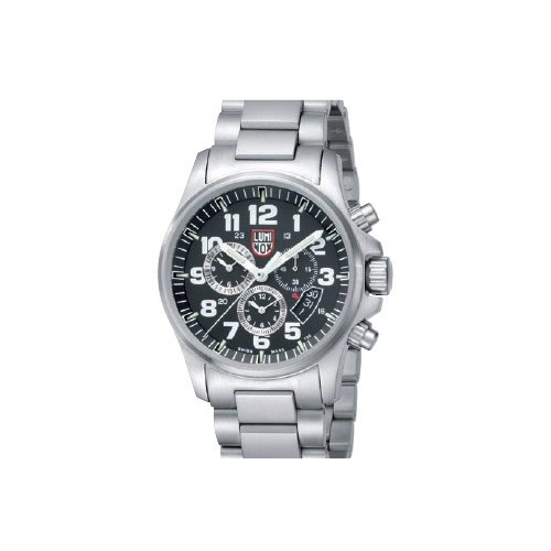 Luminox LU1842 Field Chrono Alarm 1800 Black Dial Bracelet Men's Watch